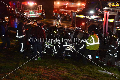 20131206 - Bethpage - Overturned Auto w/ Entrapment