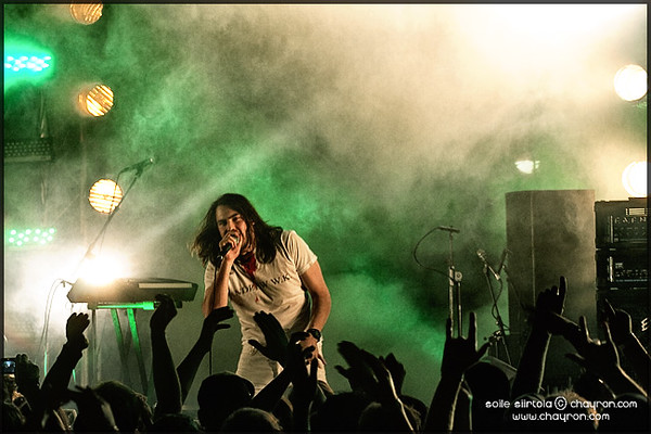 Andrew W.K.@Stagedive Day Out 2009