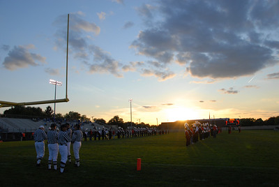2007 Senior Night Football Game