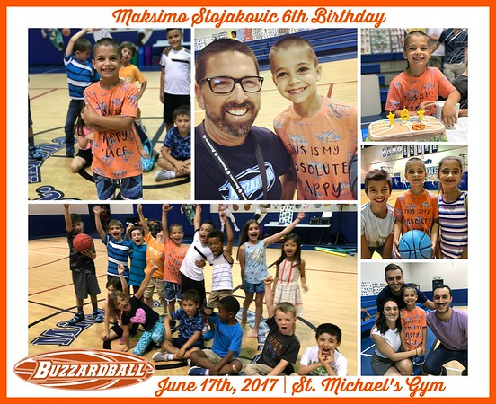 JUNE 17TH, 2017 | Maksimo Stojakovic 6th Birthday