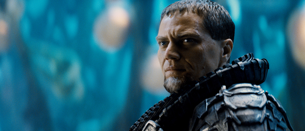 """. This film publicity image released by Warner Bros. Pictures shows Michael Shannon as General Zod in \""""Man of Steel.\"""" (AP Photo/Warner Bros. Pictures)"""