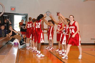 Girls Varsity Basketball - 2006-2007 -  9/7/2006 Grant JG