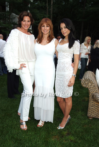 LuAnn deLesseps, Jill Zarin, Bethenny Frankel