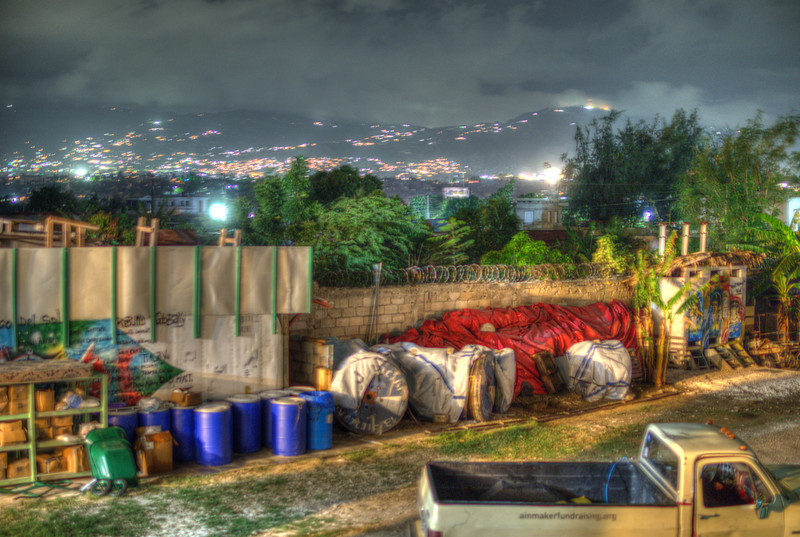 The Haitian compound that we would call home for almost 2 weeks. Haiti Communitere.