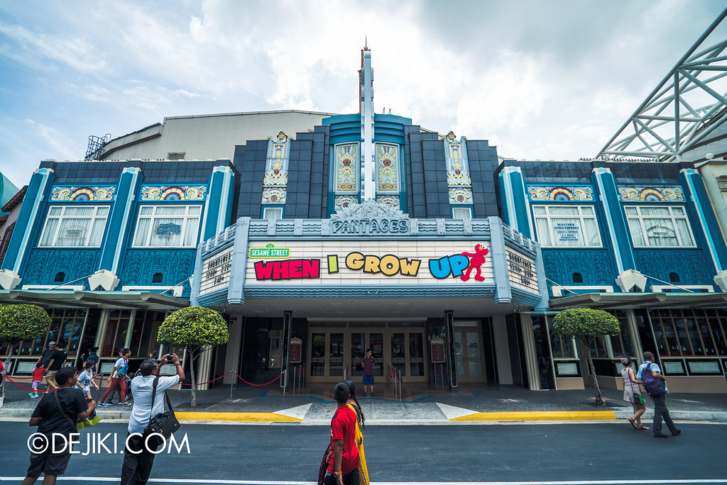 Universal Studios Singapore - Park Update May 2016 / Pantages Hollywood Theatre Refurbishment 3