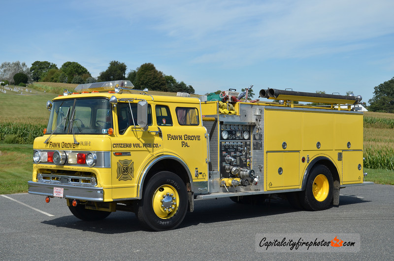 Fawn Grove (Citizens Fire Co.) Engine 56-2: 1990 Ford/Pierce 1000/1000