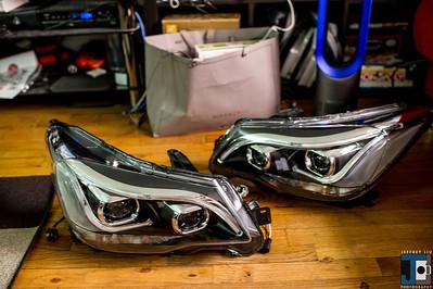 Forester XT Winpower Headlights