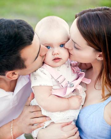 Yulia Ihor Alisa Family