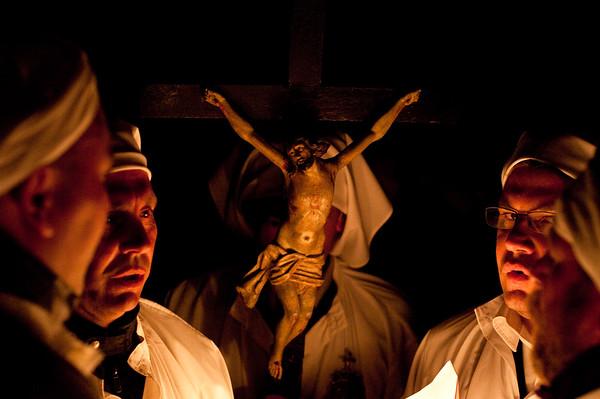 Settimana Santa: Castelsardo, Lunissanti