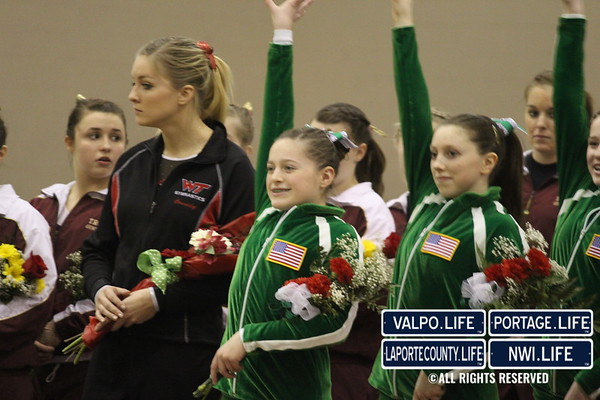 VHS Gymnastics Sectional 2012