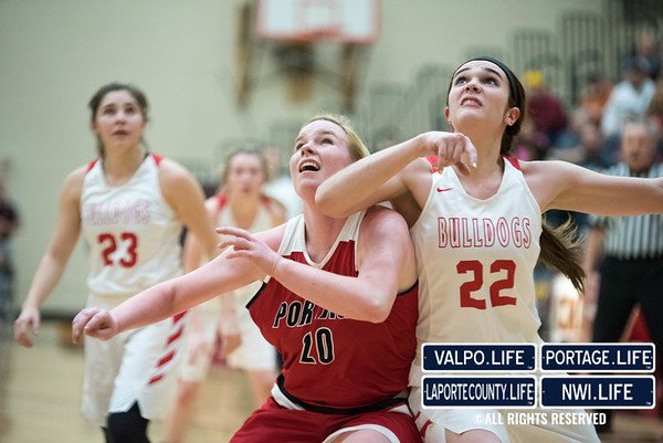 Sectionals Girls Basketball: Portage vs. Crown Point 2017