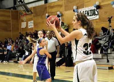 Varsity Basketball- Girls February 10, 2010