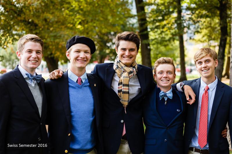 Henry, Cap, Matthew, Landen, and Billy