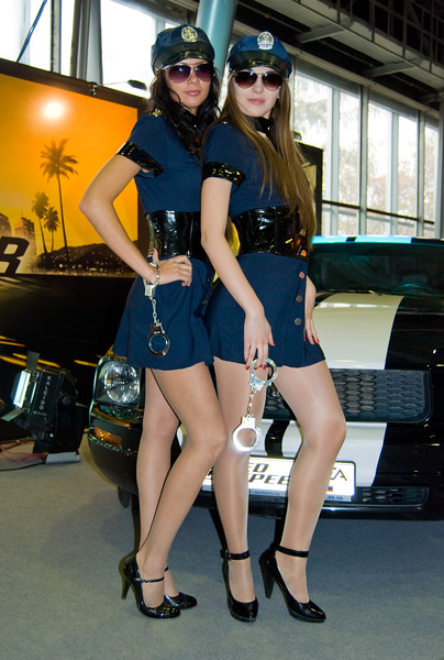 NFS Undercover booth-babes of Igromir 2008