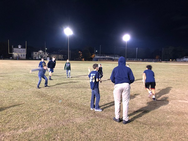 Middle School Game Night 11/8/19