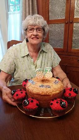 Mom's 83rd Birthday - 2016