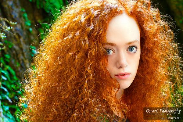 Merida (Cian Fionn) from Brave