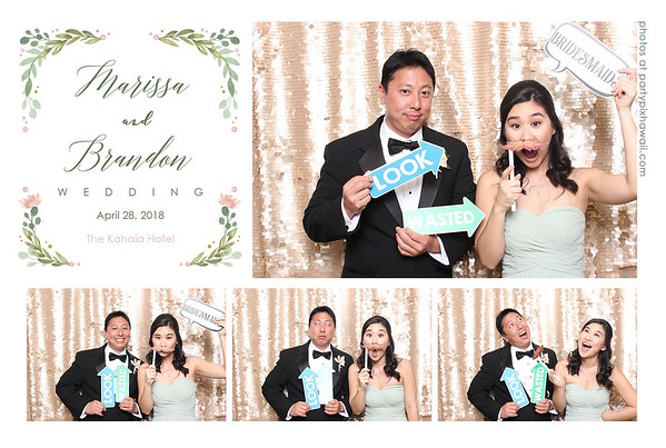 Brandon & Marisa's Wedding (Mini Open Air Photo Booth 2)