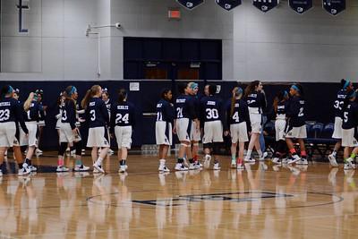 OE girls Varsity Basketball Vs Oswego 2016/17