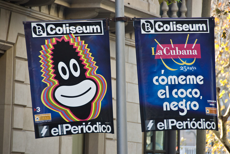 Street signs in Barcelona. (Dec 14, 2007, 11:19am)