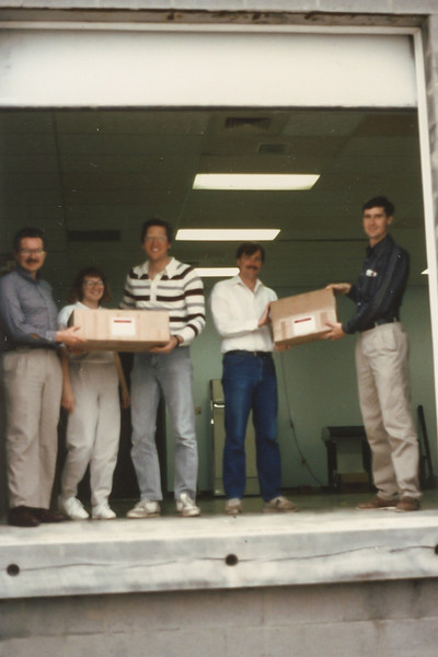 We shipped our first system to BF Goodrich
