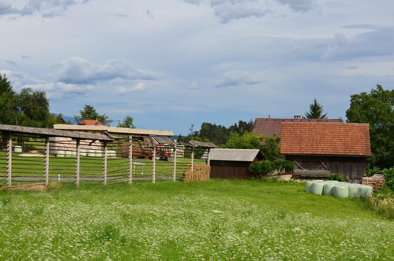 Countryside. Selo pri Bledu