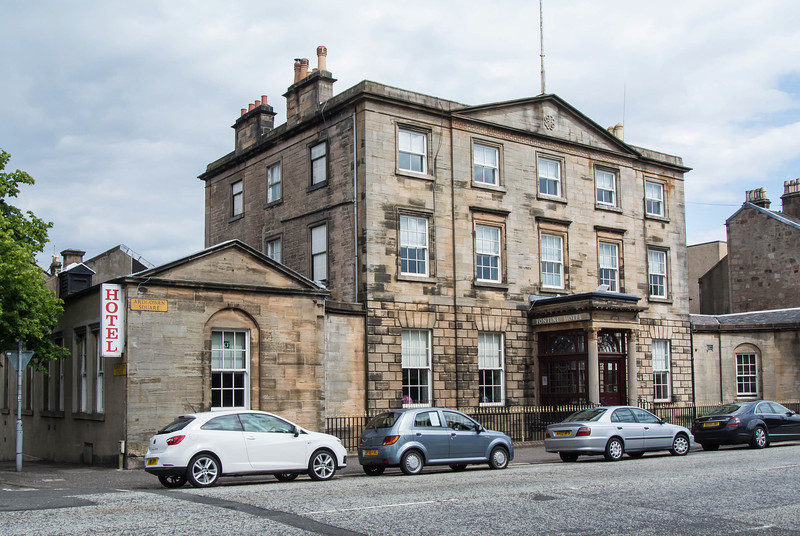 Tontine Hotel in Greenock, 15 miles NW of Glasglow