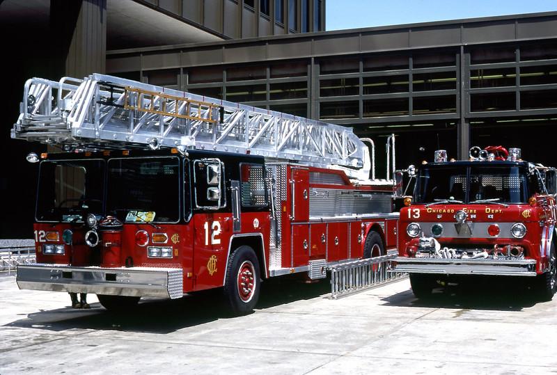 CHICAGO  ENGINE 13  FORD C8000 - E-ONE  1250-500  TRUCK 12  HENDRICKSON - E-ONE  110'.jpg