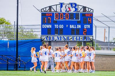 Long Beach Girls HS Varsity Lacrosse game against Mepham HS 6-12-21