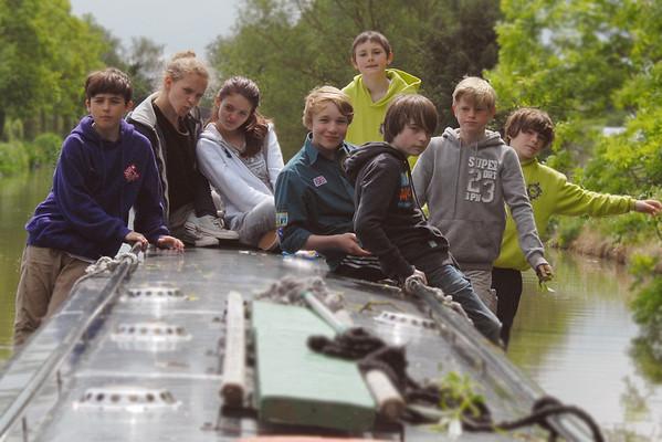Narrowboating Trip 2012