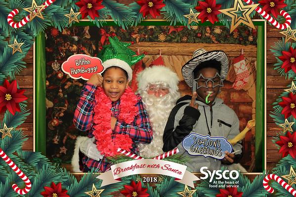 Sysco Breakfast with Santa