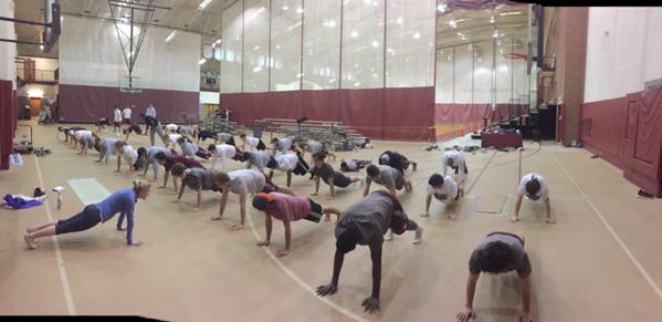 LAX Yoga Session