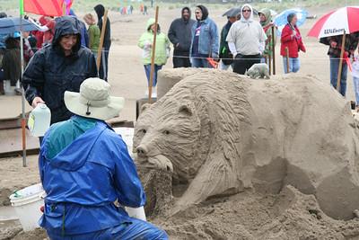 Cannon Beach Sandcastle Competition 2007