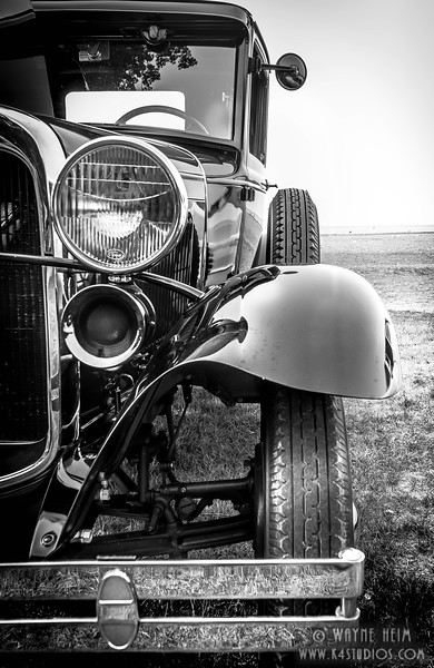 Model A -- Black & White Photography by Wayne Heim