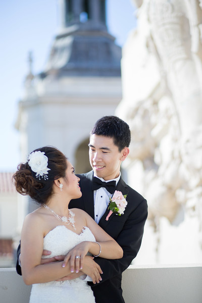 Catelyn & William | Pasadena City Hall | NBC Restaurant
