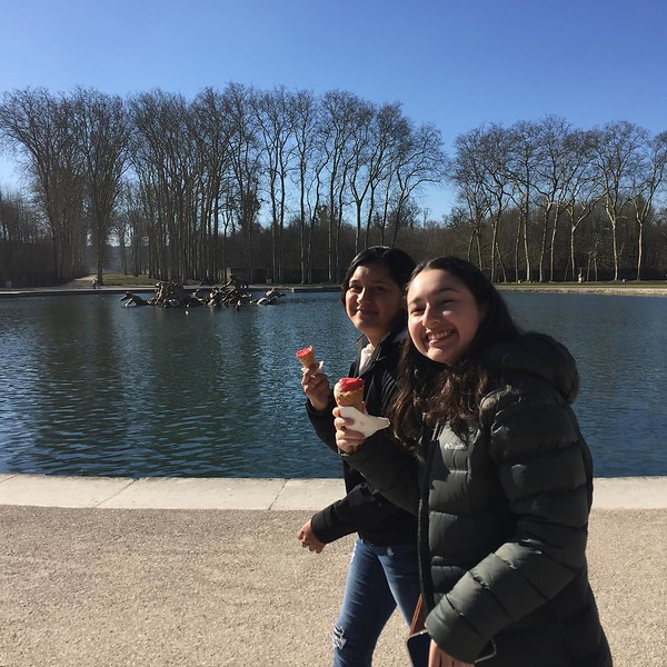 Bike riding in the forêt de Versailles. Super 🙌�