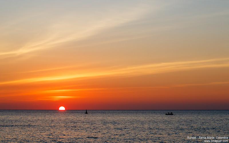 Sunset - Santa Marta, Colombia