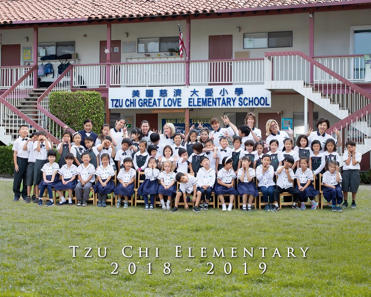 Tzu Chi School Photo (Walnut and Monrovia)