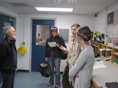 Union Waste Sort, November 2010