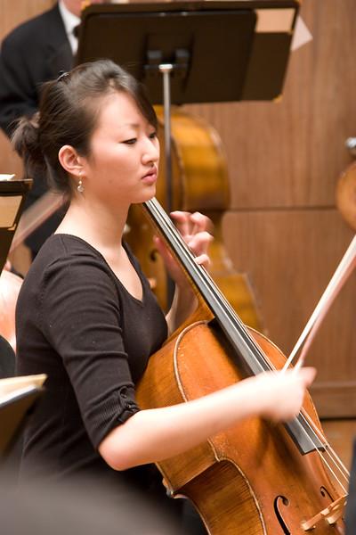 Jennifer Kim, cello -- Hopkins Symphony Orchestra, March 2008