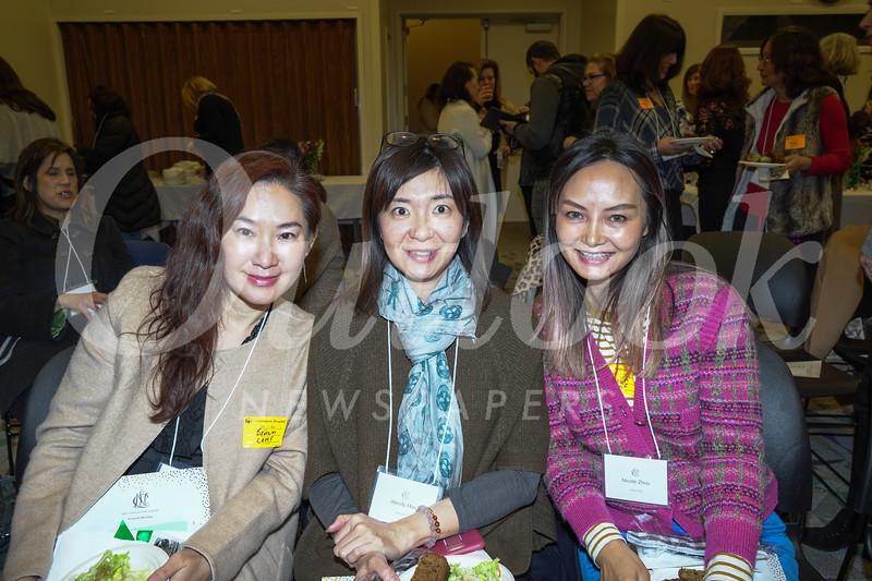 Jasmin Tsai, Wendy Hsu and Nicole Zhou