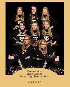 2012-13 Wrestling Cheerleaders