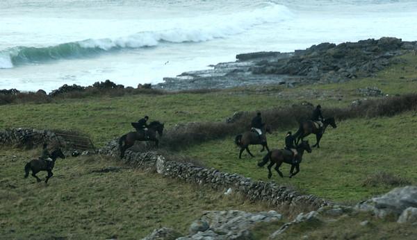 Hunt on the Burren, Co Clare, Ireland