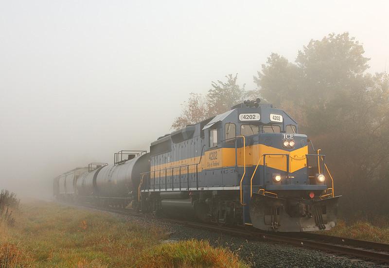Iowa Chicago & Eastern 4202 (EMD SD40-2) - Janesville, WI