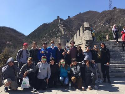 Trip to China, Spring 2016