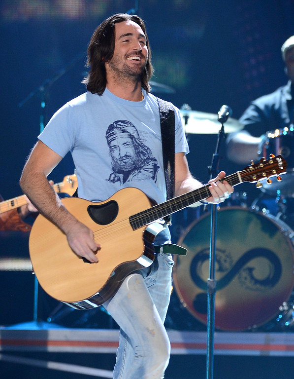 . LAS VEGAS, NV - DECEMBER 10:  Musician Jake Owen performs onstage during the 2012 American Country Awards at the Mandalay Bay Events Center on December 10, 2012 in Las Vegas, Nevada.  (Photo by Mark Davis/Getty Images)
