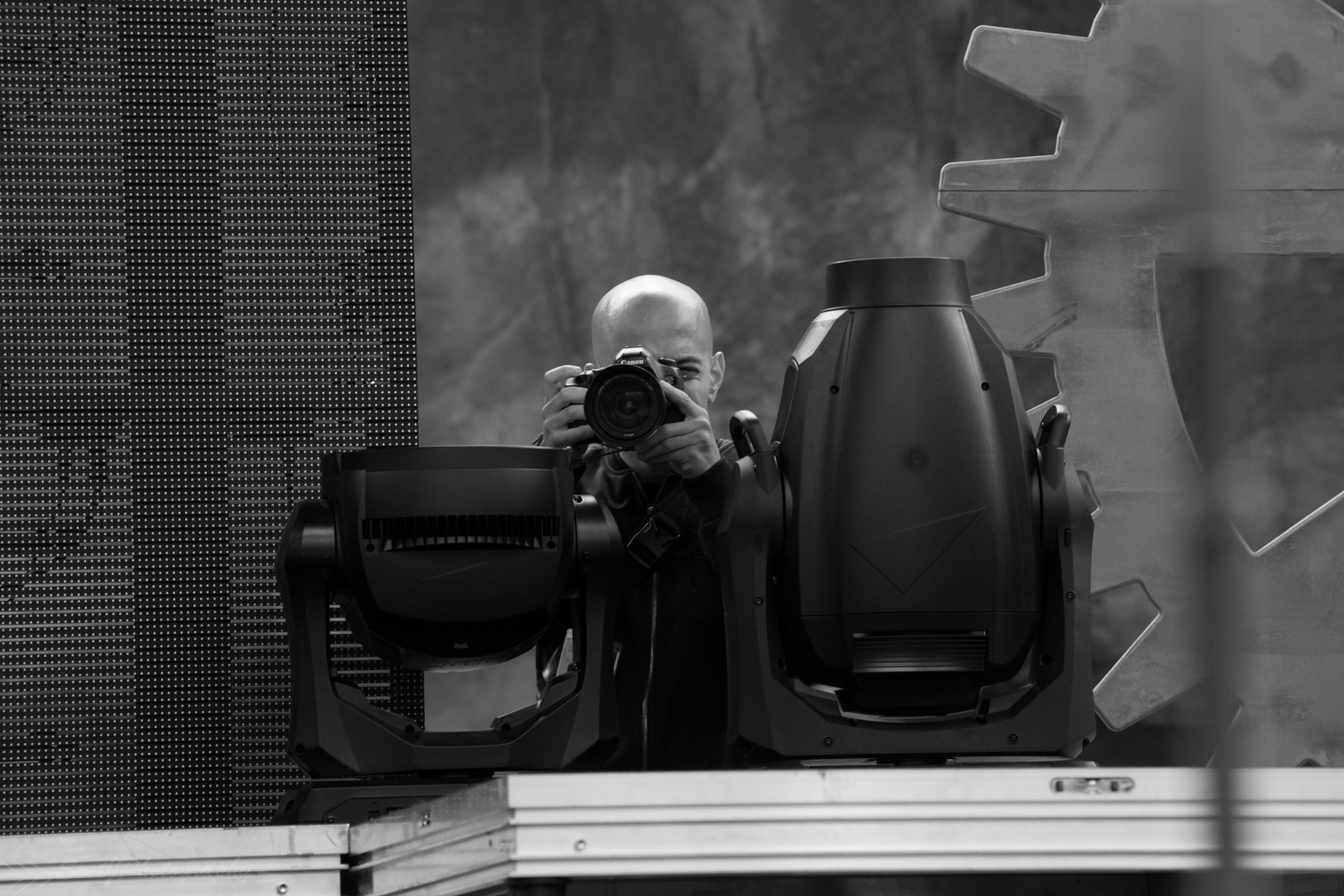 Adam Elmakias Photographing Melanie Martinez Live at Red Rocks Amphitheater - photo bySvetlana Joukova