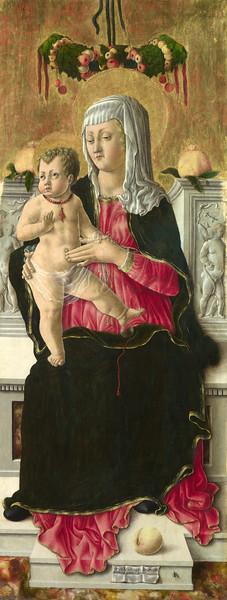 The Virgin and Child Enthroned