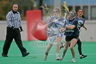 10/19/2014 - Women's Fall Ball - Israel U-19's vs. Brandeis University - New Balance Field at Boston University, Boston, MA