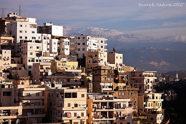 Panorama of Tripoli, Lebanon